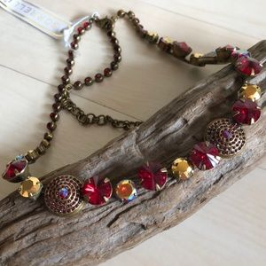 """Sorrelli """"Ruby Cocktail"""" Necklace"""